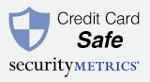 Credit Card Safe - Validated by Security Metrics